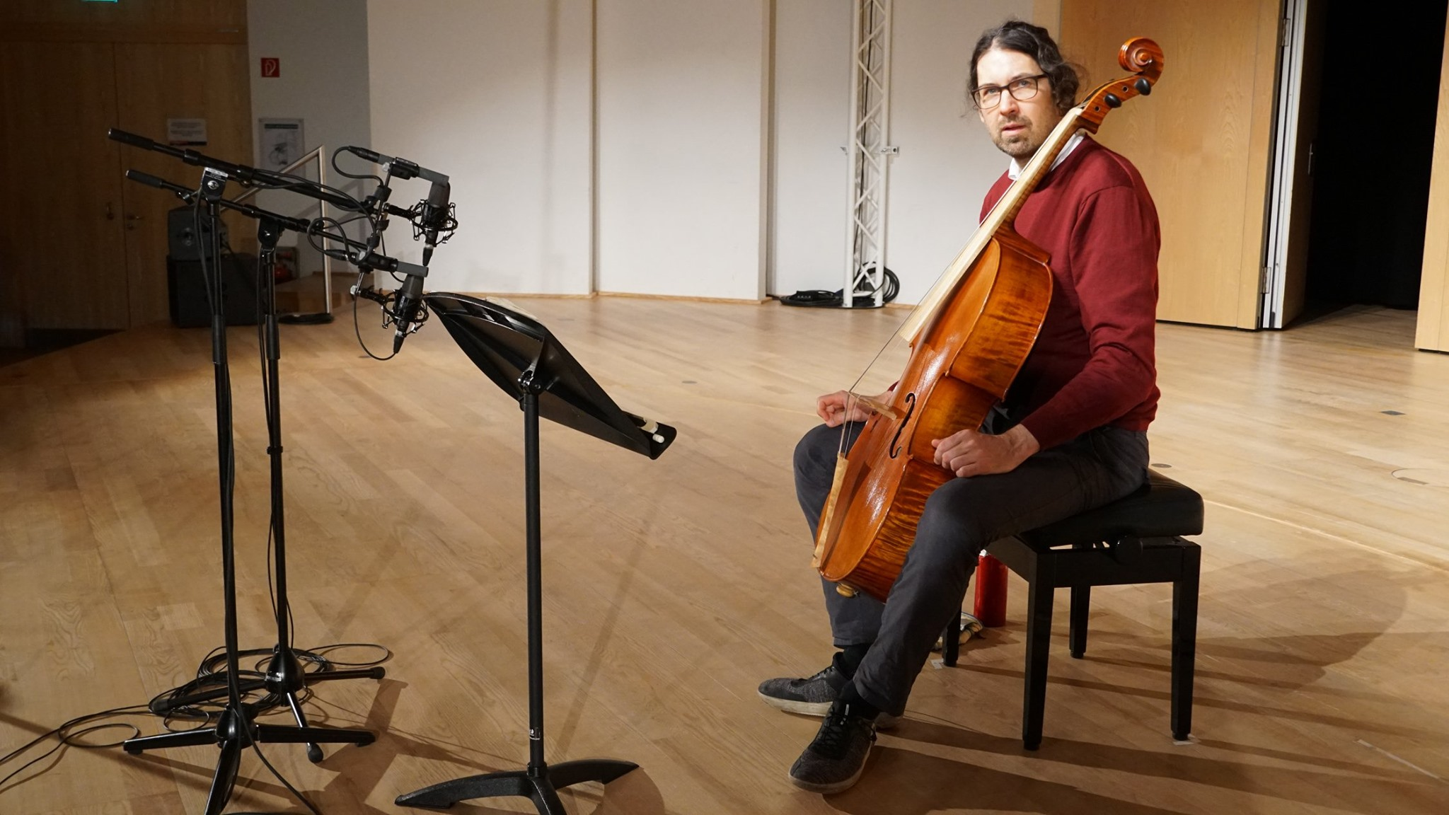 Recording of Bach Suites